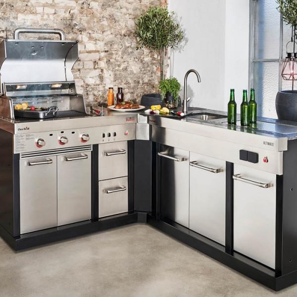 meuble d angle cuisine exterieure char broil ultimate