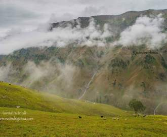 Gasdsar to Satsar Kashmir Great Lakes Trek