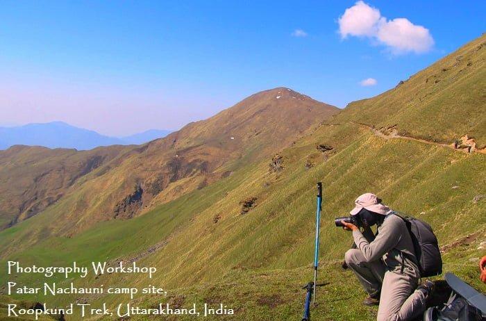 Ravindra Joisa Photography adjusting focal length