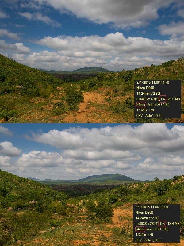 focal length fx vs dx - ravindra joisa photography