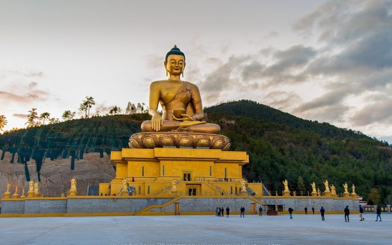 Largest statue of Buddha