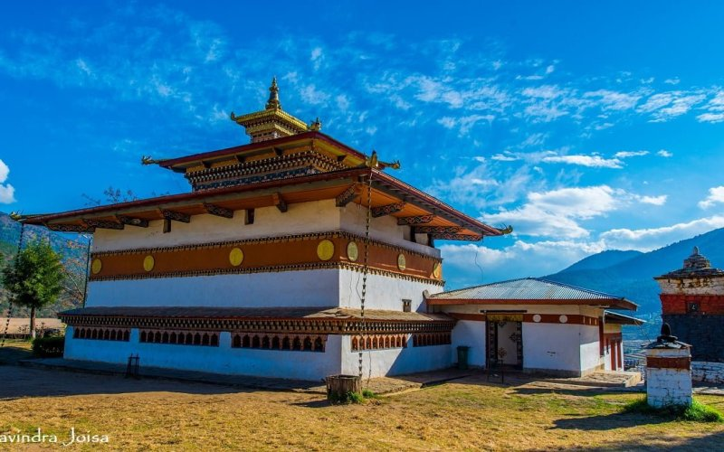 Chimi Lhakhang Fertility temple in Bhutan