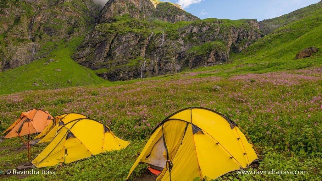 Jwara Campsite - Hampta Pass Trek
