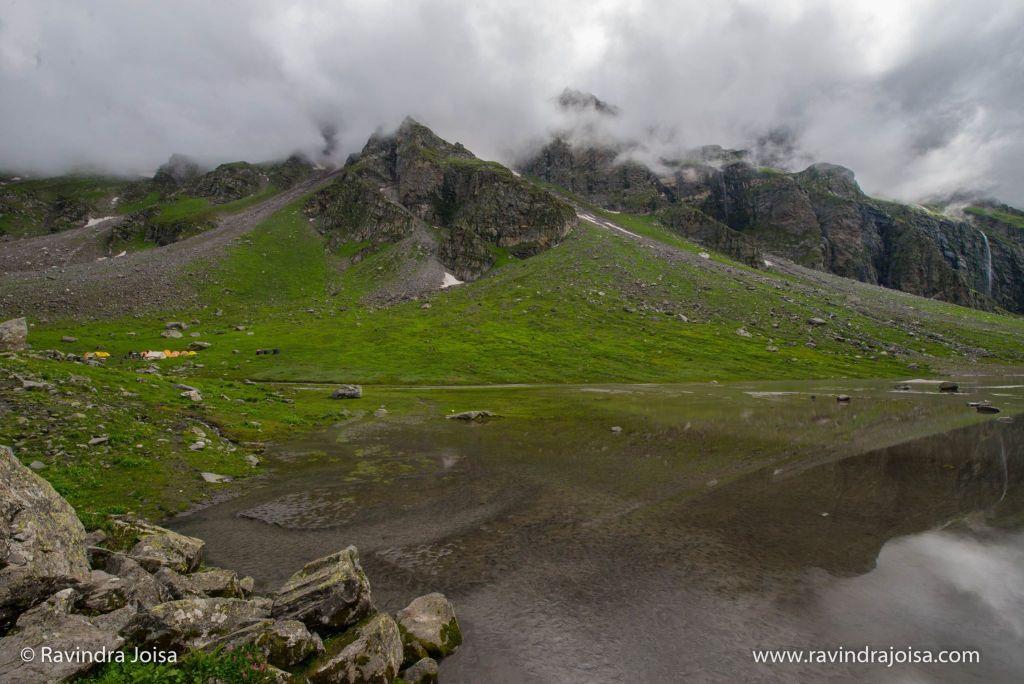 Balu Ka Ghera or the bed of sand - Hampta Pass trek