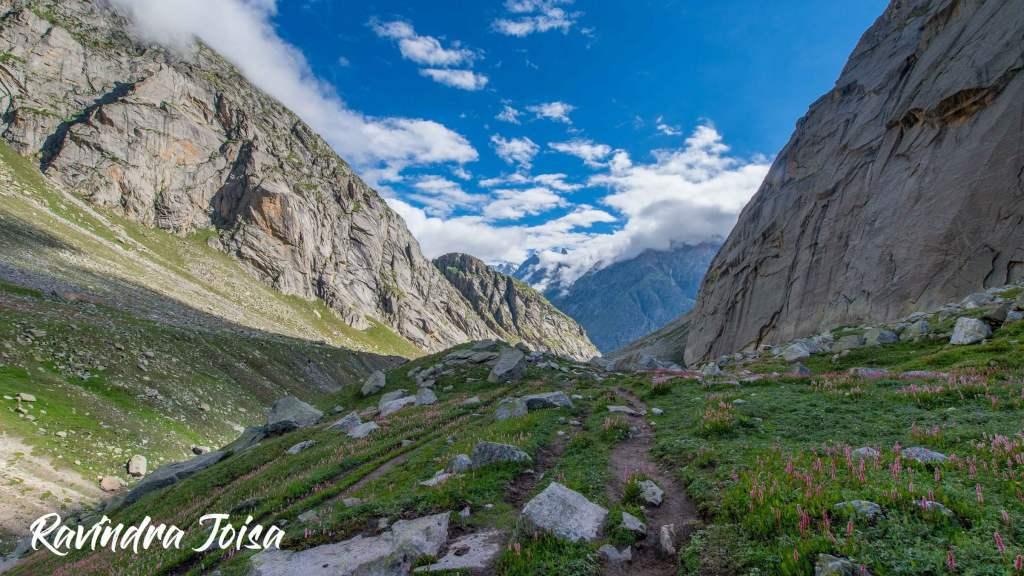 Lahaul Spiti Valley after Hampta Pass towards Chhatru Campsite