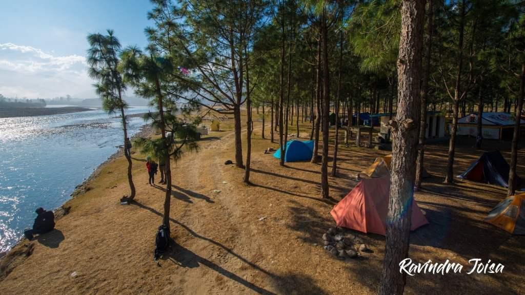 Punakha Campsite - early morning