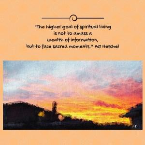 """Spiritual Living"""