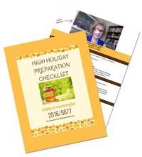 Holy Days Checklist