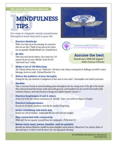 mindfulness tips