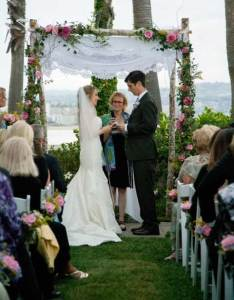 Rabbi Jill Wedding Chuppah