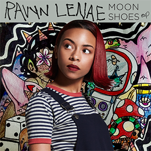 Image result for moon shoes ep ravyn lenae