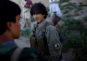 Afghan Local Police is a semi-volunteer force