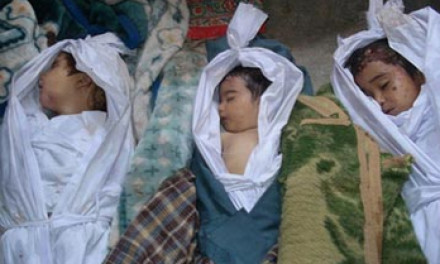 Afghan children killed in a 2011 NATO air strike