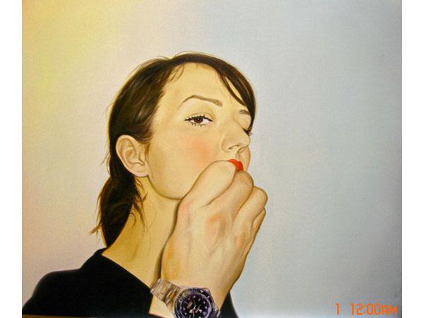 Autoportrait with B'Rolex