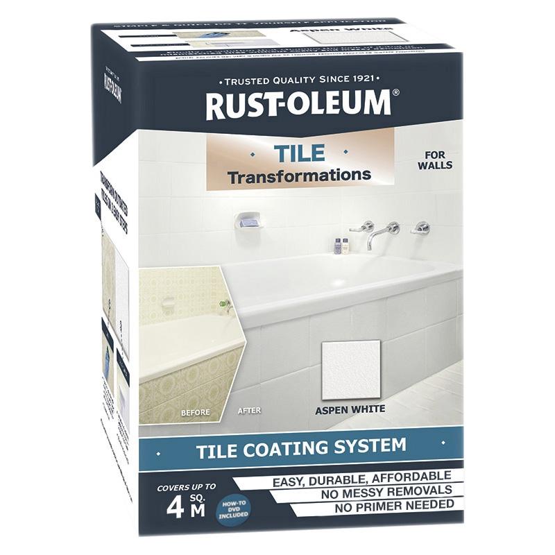rust oleum tile transformation kit