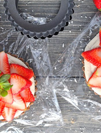 Strawberry Cream Tarts