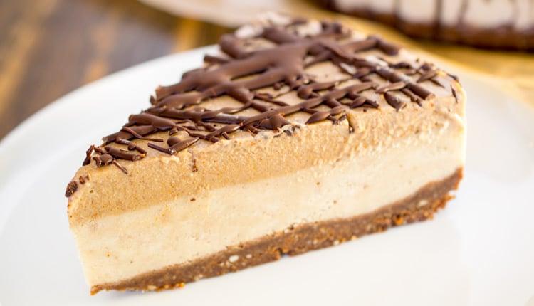 Chocolate Caramel Ice Cream Cake