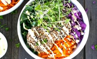 Falafel Buddha Bowls