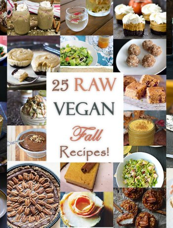 25 Raw Vegan Fall Recipes
