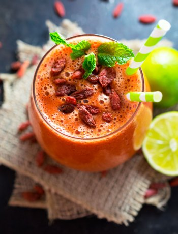 Goji Berry Lime Smoothie