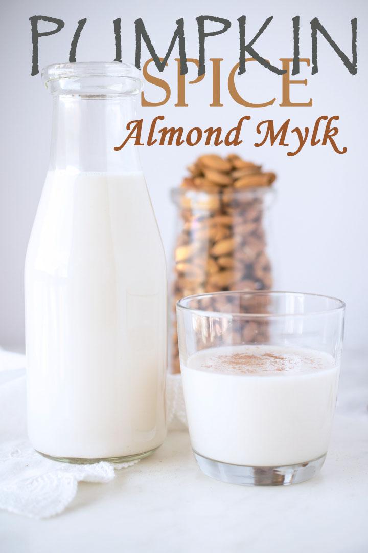 Pumpkin Spice Almond Mylk