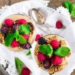 Hemp Seed Yogurt Parfait