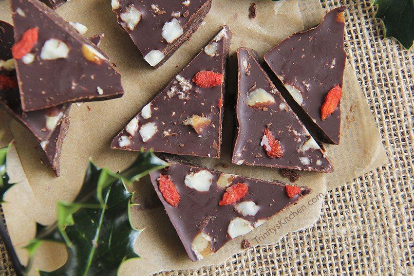 Homemade Artisan Chocolate Raw Cacao & Lucuma