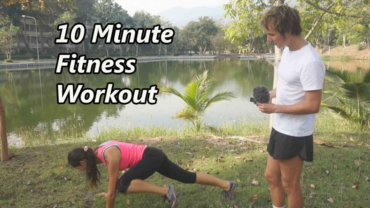 10-Minute Home Full Body Workout To Burn Calories Fast ...