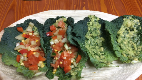 Tacos recipe - raw and vegan