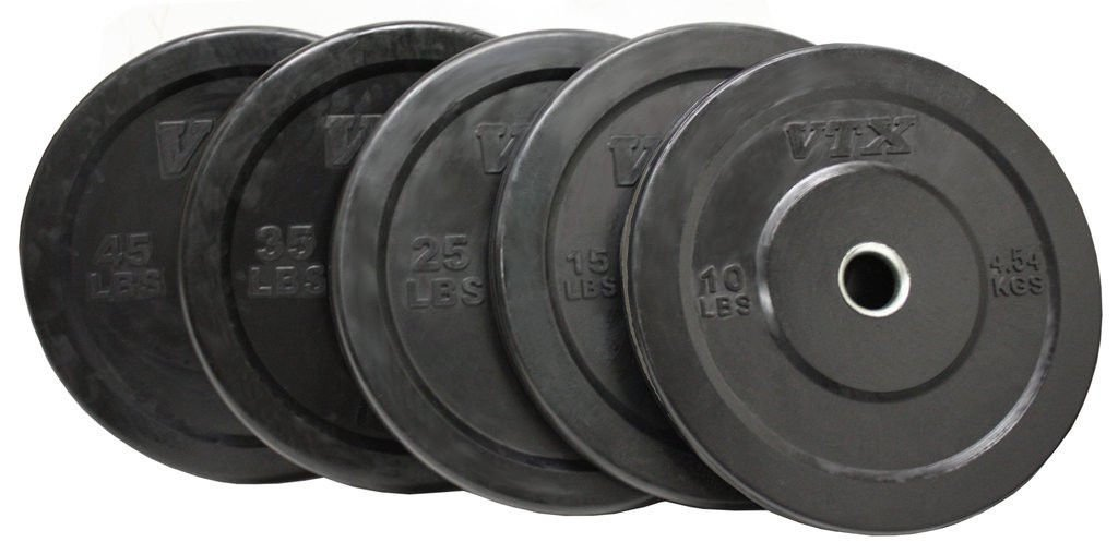 Troy VTX 260lb Black Olympic Rubber Bumper Plates Weight Set for Crossfit  sc 1 st  Raw Strength Equipment & Troy VTX 260lb Black Olympic Rubber Bumper Plates Weight Set for ...