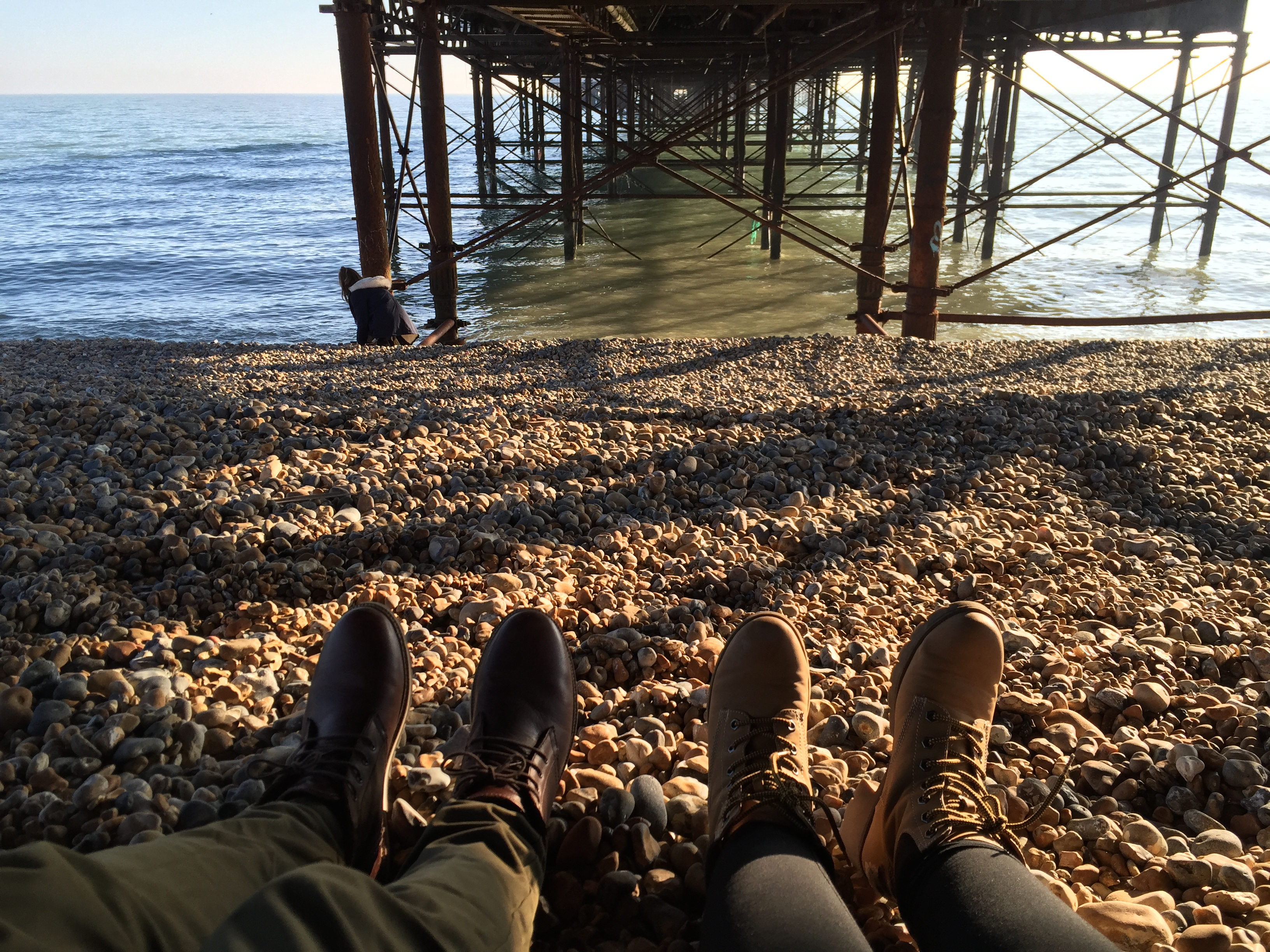 BRIGHTON ENGLAND TRAVELS - HER ADVENTURES WITH HIM PHOTOGRAPHY