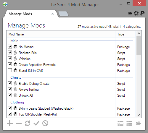 The Sims 4 Mod Manager – Raxdiam