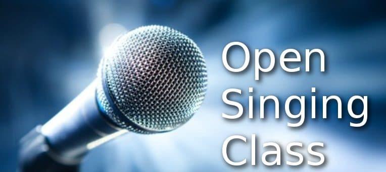 Open Singing Class, Sonntag 28:00 Uhr