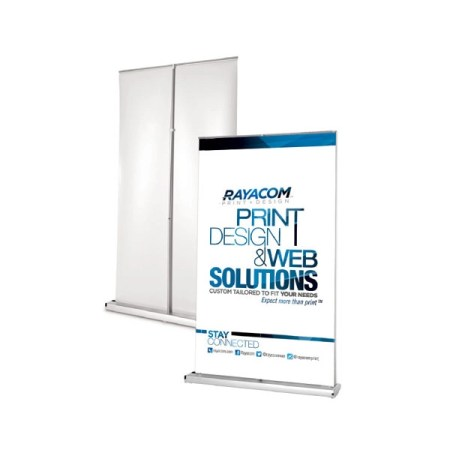 Wide Retractable Banner Stand