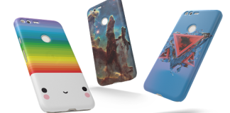 Google live cases for Pixel phones