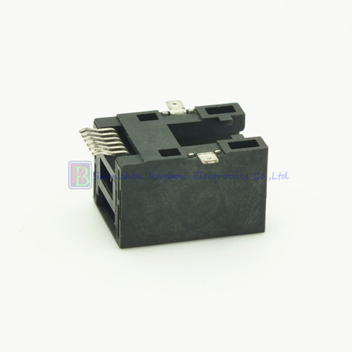 Side Entry Smt Type 6p6c Rj12 Rj11 Pcb Jack