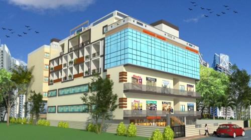 Commercial cum Residential Complex -Vashi Mumbai -Mr.Rakesh Kapri's Project
