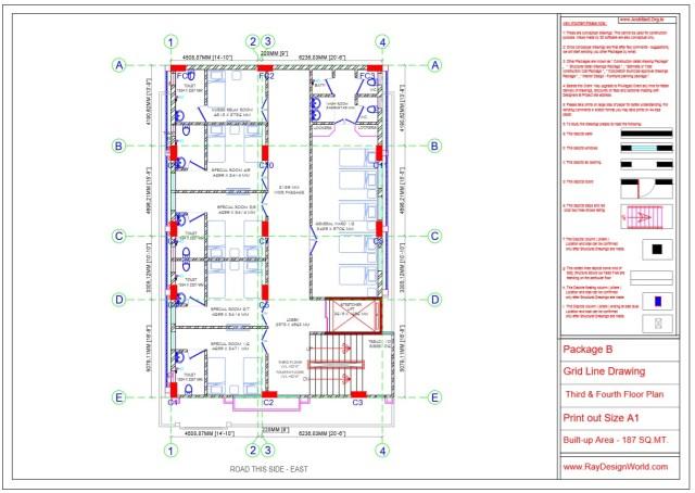 Hospital Project Working Drawings -Shimoga Bangalore- Dr.Rajeev Pandurangi