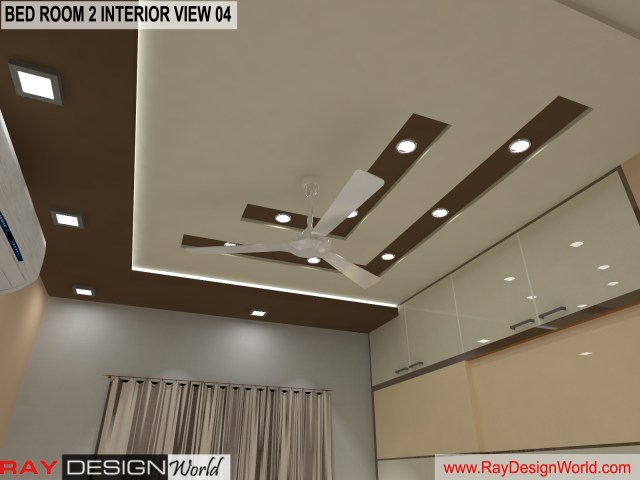 Bed Room 2  Interior Design view 04 - Vadodara Gujarat - Mr.Chirayu Soni