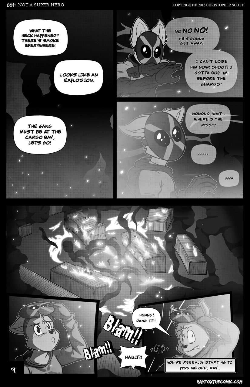 Not a Super Hero: Page 9