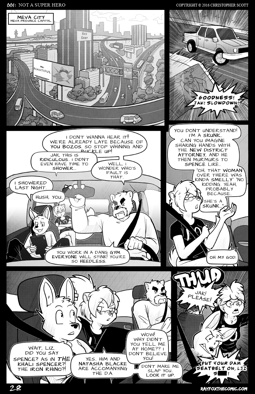 NOT a Super Hero: Page 28