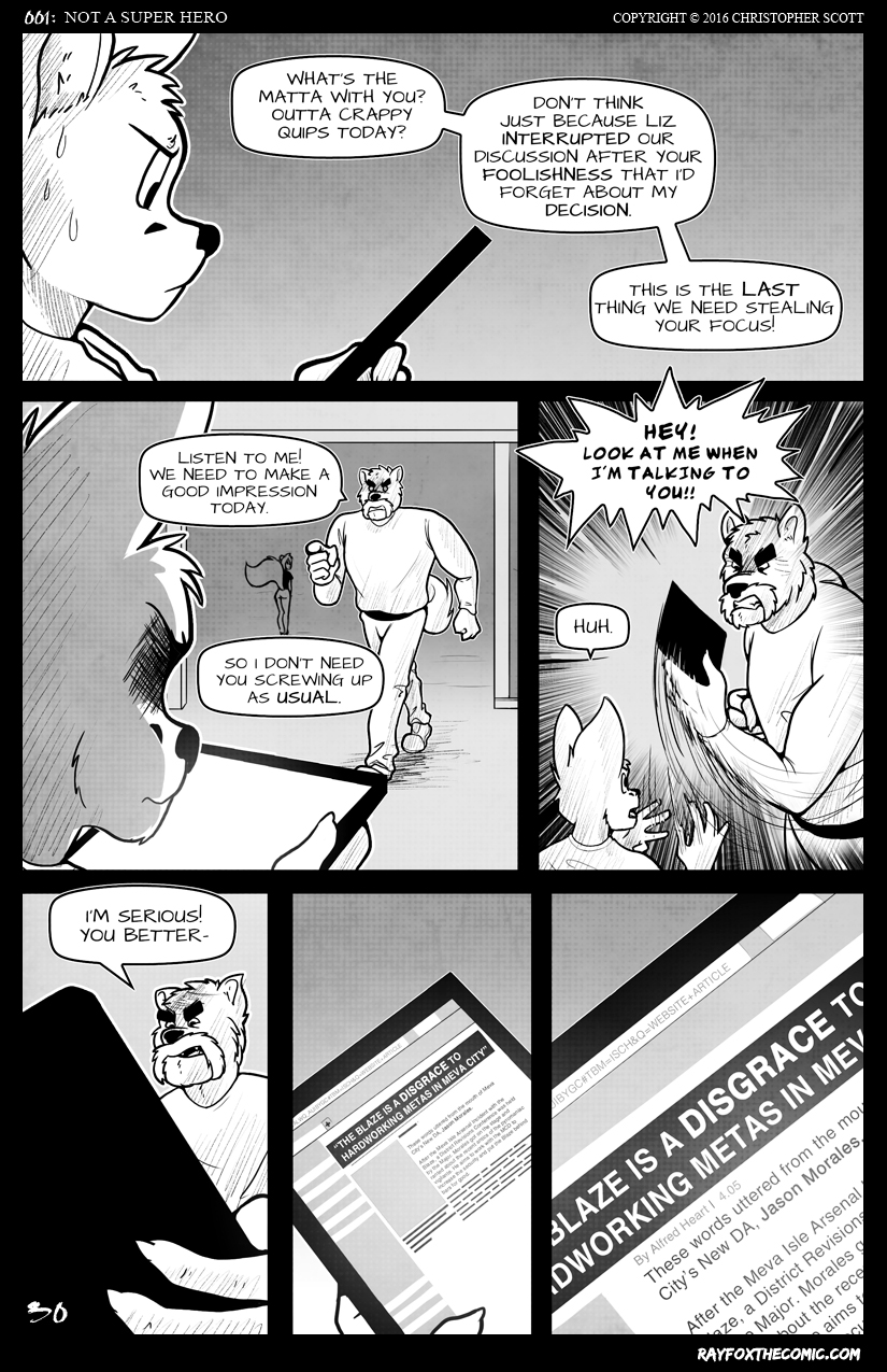NOT a Super Hero: Page 30