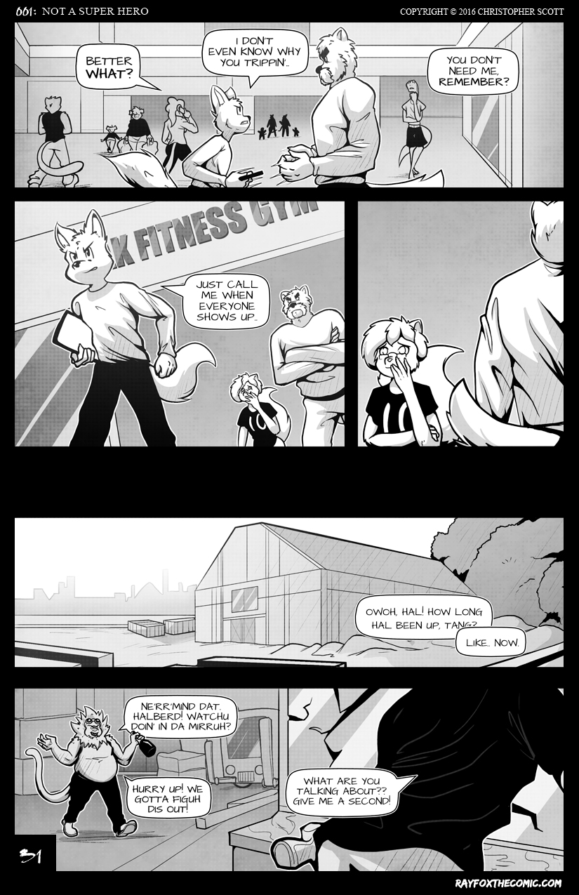 NOT a Super Hero: Page 31