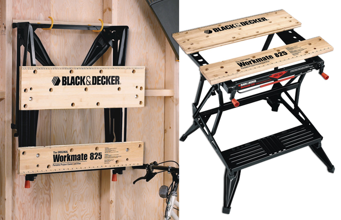 Black Workmate Workbench Decker And