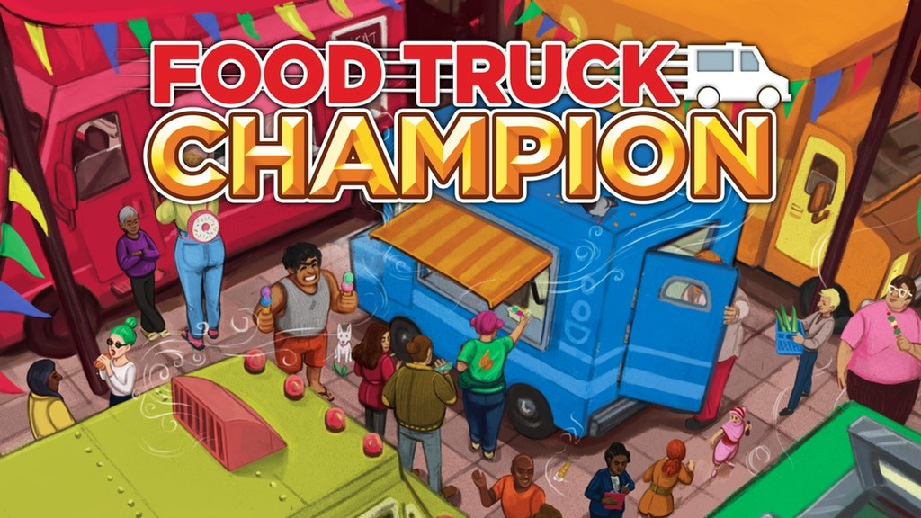 Food Truck Champion now on Kickstarter