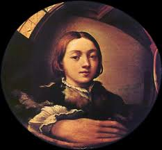 Parmiganinio, Self-Portrait in a Convex Mirror