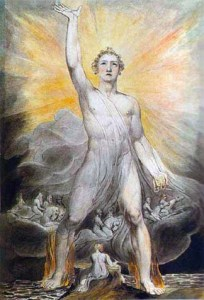 William Blake Angel of Revelation