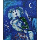 chagall-lovers-with-half-moon-1926