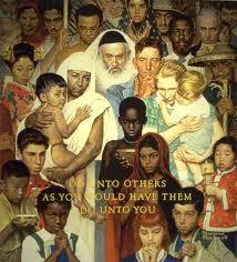 Norman Rockwell, Do Unto Others