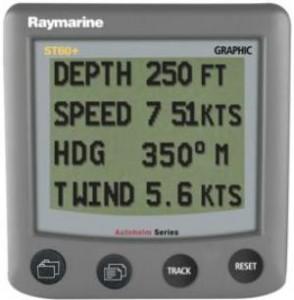 Raymarine ST60+ Plus Grafisch instrument E22075-P